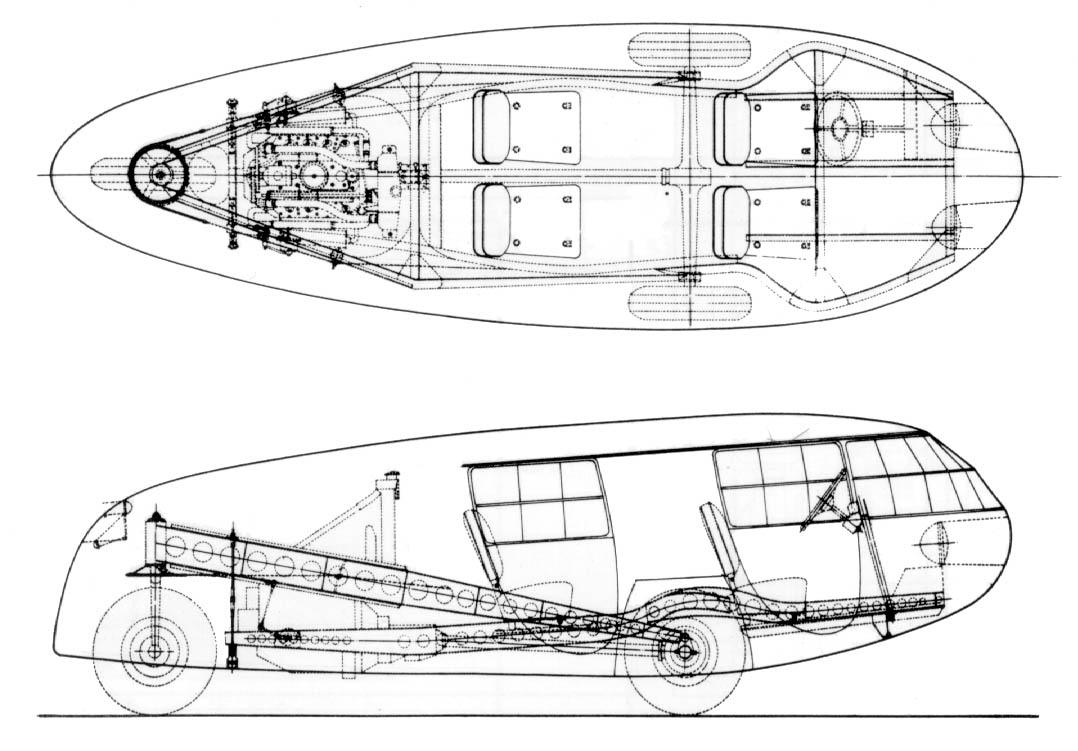 Pictures Of The Dymaxion Car